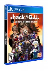 .hack//G.U. Last Recode Playstation 4 Box Package