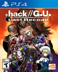 .hack//G.U. Last Recode PS4 Cover
